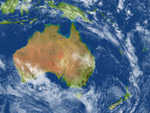 Free Australia And New Zealand On Planet Earth Stock Image - 88462101