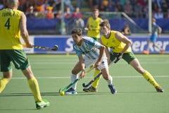 Australia - Argentina semi-finals (5-1) Royalty Free Stock Images