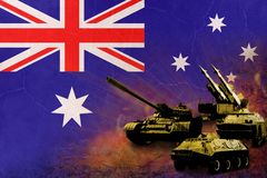 Australia army, military forces Stock Images