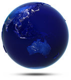 Australia, Asia sudoriental y Oceanía Foto de archivo