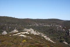 australia błękitny miasta przegrane góry Obrazy Royalty Free