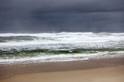 Australia - beach of Tasman Sea Royalty Free Stock Photography