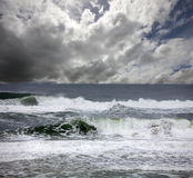 Australia - beach of Tasman Sea Stock Image
