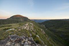 Australia blue mountains grand canyon Stock Image