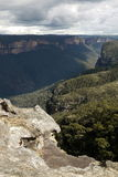 Australia: Blue Mountains view from Mount Banks stock photos