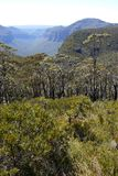 Australia: Blue Mountains view of Mt Hay Royalty Free Stock Images