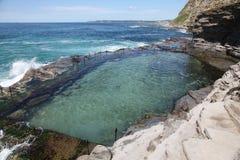 australia bogie dziura Newcastle fotografia stock