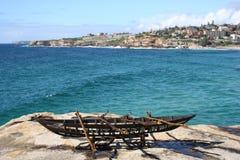 australia bondi s rzeźbi morze Obraz Stock