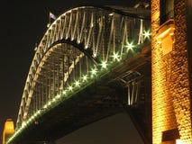 australia bridge harbour sydney Στοκ Φωτογραφία