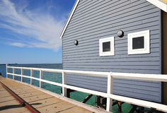 Australia Busselton Jetty Royalty Free Stock Images