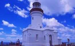 Australia: Byron zatoki latarnia morska zdjęcie royalty free