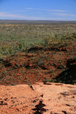 australia canyon parku narodowego watarrka królów Obrazy Stock