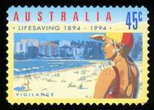 AUSTRALIA - postage stamp Royalty Free Stock Photography