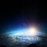 Australia city lights Stock Photo