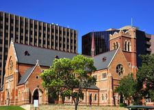 Australia City of Perth St. Georges cathedral Royalty Free Stock Photos