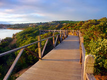 Australia Coastline Boardwalk Royalty Free Stock Image