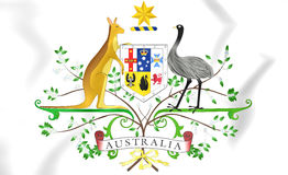 Australia Coat of Arms Stock Photography