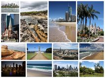 Australia collage Royalty Free Stock Photography