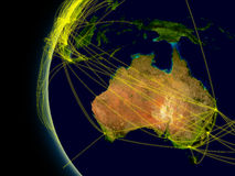 Australia connections Royalty Free Stock Photography