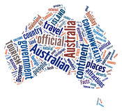 Australia Continent royalty free stock images