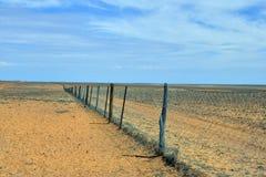 Australia, Coober Pedy, Dingo Fence Royalty Free Stock Photo