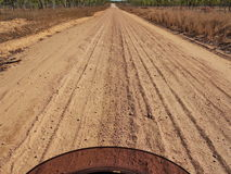 Australia, country sand road, Royalty Free Stock Photos