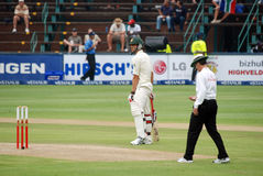 Australia Cricket tour to South Africa Stock Images