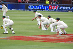 Australia Cricket tour to South Africa Feb 2009 Royalty Free Stock Images
