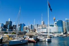 australia darling harbour 图库摄影