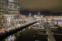 australia darling harbour 库存照片