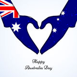 Australia Day background Royalty Free Stock Photos