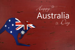 Australia Day background with Sample text greeting Royalty Free Stock Image