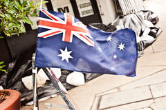 Australia Day floods Royalty Free Stock Image