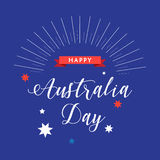 Australia day Stock Image