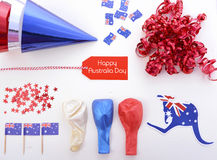 Australia Day party decorations. Stock Photography