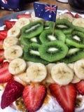 Australia Day Pavlova. A delicious Australian meringue treat ready for Australia Day Royalty Free Stock Photography