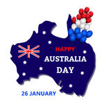 Australia day theme Stock Photography