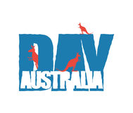 Australia Day. Traditional Australian patriotic holiday.  Stock Photo