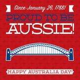 Australia Day! Royalty Free Stock Photography