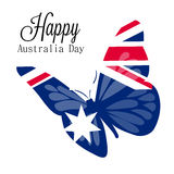 Australia day. Royalty Free Stock Images