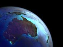 Australia del espacio stock de ilustración