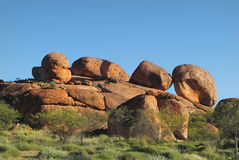 Australia, Devil's Marbles Stock Photography