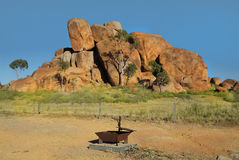 Australia, Devil's Marbles Royalty Free Stock Images