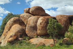 Australia, Devil's Marbles Royalty Free Stock Photography