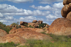 Australia, Devils Marbles Stock Photos