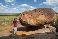 Australia, Devils Marbles Royalty Free Stock Photo