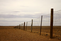 Australia - dingo fence Stock Images
