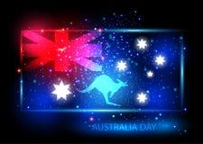 Australia dnia karciany projekt Zdjęcie Royalty Free