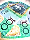 Australia dollar , currency. Money use in australia Stock Photos