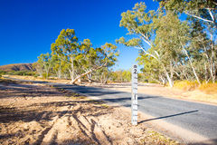 Australia Dry Creek Bed Royalty Free Stock Image